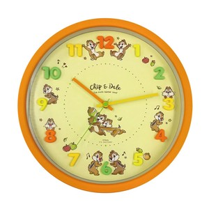 Disney Icon Wall Clock Chip 'n Dale