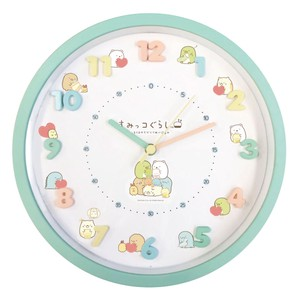 Sumikko gurashi Icon Wall Clock Soft Toy Green