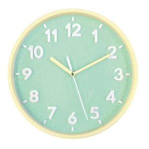 Pastel Index Wall Clock Mint