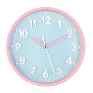 Pastel Index Wall Clock