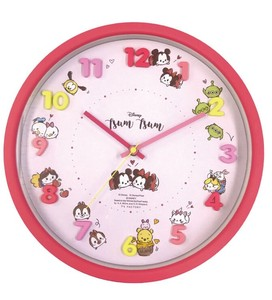 Disney Icon Wall Clock Tsum Tsum