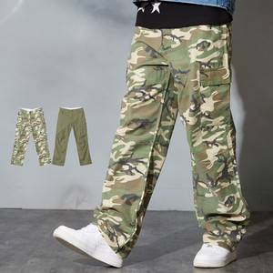 Wide Pants Men's Ladies Dazzle Paint Pants Camouflage Street