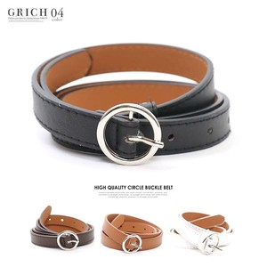 S/S Belt Fancy Goods Circle Buckle Belt