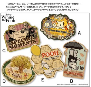 Disney Winnie The Pooh Travel Sticker