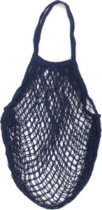 Cotton Mesh Bag Indigo