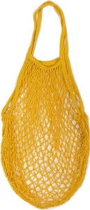 Cotton Mesh Bag Mustard