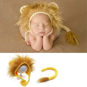 Art LION Accessories Costume Baby Knitted Hat Costume Cosplay