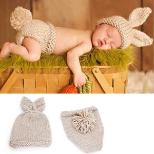 Art Rabbit Accessories Costume Baby Knitted Hat Costume Cosplay