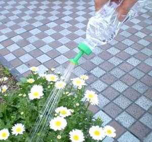 Plastic Bottle Set Simple Watering Can rising Plastic Bottle Watering Can Eco