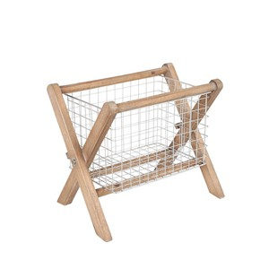 Magazine Rack Fur Wood