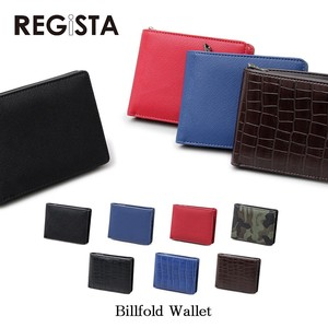 Push Leather Ford Wallet Clamshell Wallet