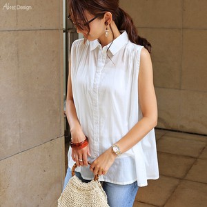 Cotton Sleeveless Blouse