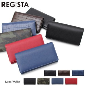type Push Leather Long Wallet Long Wallet