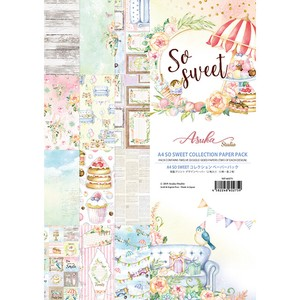 【memory place】MP-60275 A4 So Sweet Collection Paper Pack