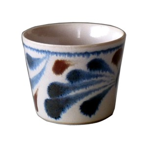 Blue Arabesque Chocolate Cup