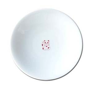 Fortune Star Beckoning cat Plate