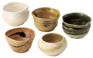 Japanese sake cup Wood Boxed