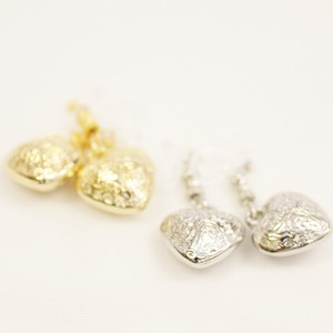 Heart Motif Resin Hall Earring