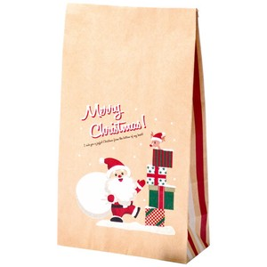Bags with Square-cornered Present Santa