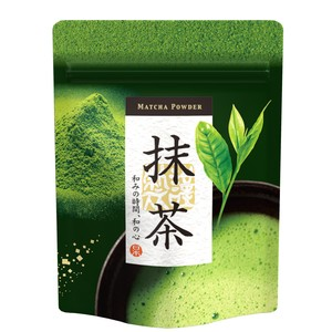 Aluminium Stand Pack Powdered Tea