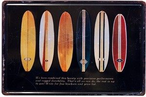 Antique Metal Plate S surfboards