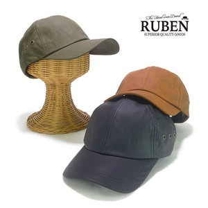Ruben Leather Cap Young Hats & Cap