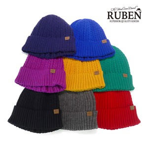 Ruben Wool Cable Knitted Watch Cap Young Hats & Cap