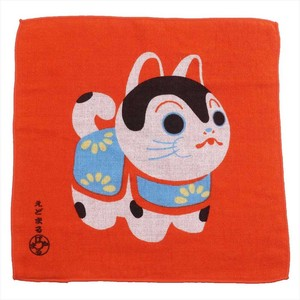 Hand Towel Edo One Side Gauze Handkerchief Towel