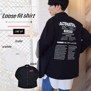 [2019NewItem] Blow Bag Print Fit Shirt