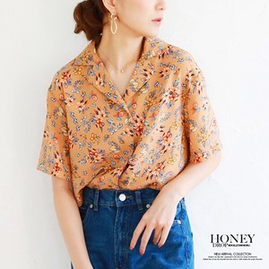 A/W Floral Pattern Shirt Top
