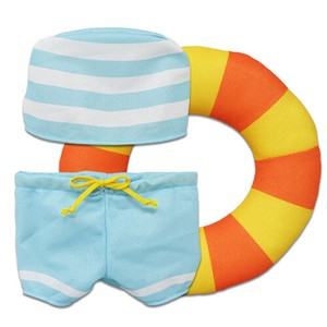 Soft Toys/Dolls Costume Sea Bathing Set