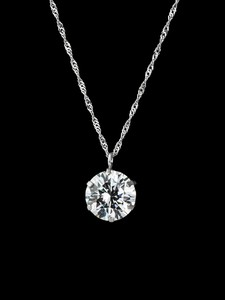 Platinum Premium Big Pendant Diamond