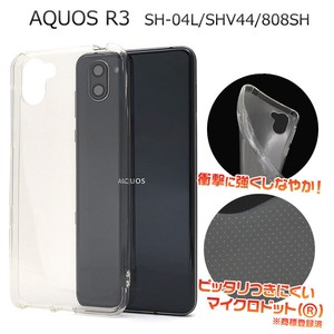 Smartphone Material Items Micro Dot soft Clear Case
