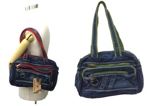 Butterfly Butterfly Denim Bag