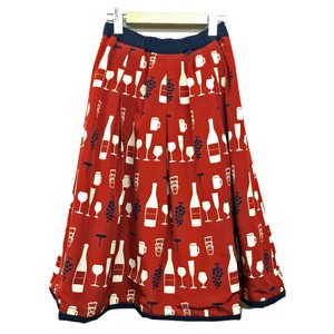cocora Wine Reversible Skirt