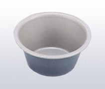 Black Figure Pudding Cup