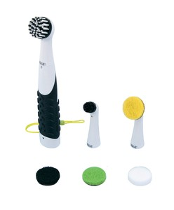 Super SONIC Rubber Electric Cleaning Brush Pad Set