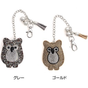 Owl Bag Charm Both Sides Processing
