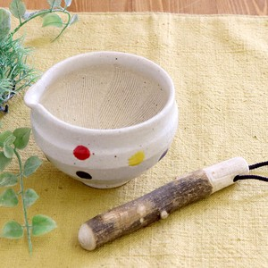Table Mortar Dot Mortar Mino Ware Pottery Mino Ware