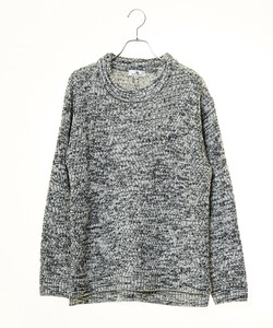 A/W Men's Bias Big Crew Neck Knitted