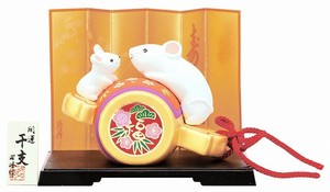 Better Fortune Zodiac Fortune Ornament Good Luck Fukutsuchi Ride Parent And Child