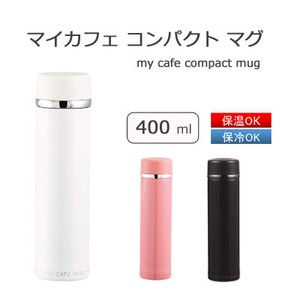 Mug Cafe Compact PEARL KINZOKU Mag Bottle Water Flask