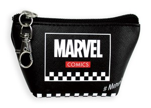 Tease Marvel Triangle Mini Pouch Checker