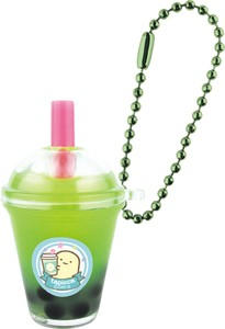 Sumikko gurashi Key Ring Green Tea