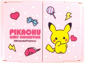 Pokemon Mirror Girly Collection Pink