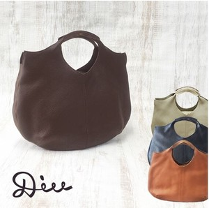 Tote Bag Leather Genuine Leather Bi-Color Shoulder Bag Strap