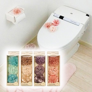 Convenient Washing Flower Motif Wall Sticker