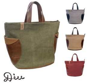 Leather Combi Tote Bag Genuine Leather