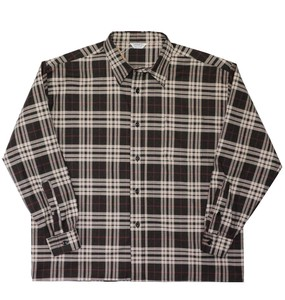 A/W Stretch Checkered Over Shirt