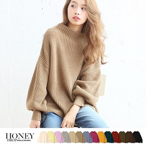 Special A/W Balloon Knitted Top